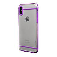 billige -Etui Til Apple iPhone X iPhone 8 Plus Støtsikker Matt Bakdeksel Helfarge Hard PC til iPhone X iPhone 8 Plus iPhone 8 iPhone 7 Plus iPhone