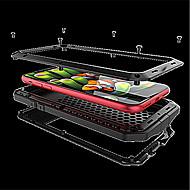 Недорогие Кейсы для iPhone 8 Plus-Кейс для Назначение Apple iPhone X iPhone 8 Защита от удара Чехол броня Твердый Металл для iPhone X iPhone 8 Pluss iPhone 8 iPhone 7 Plus