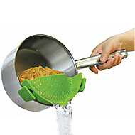 お買い得  キッチン用小物-キッチンギズモsinconeスナップひずみストレーナーポットパンツボウル