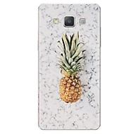 voordelige Galaxy A7(2016) Hoesjes / covers-hoesje Voor Samsung Galaxy A7(2017) A5(2017) Patroon Achterkantje Fruit Marmer Zacht TPU voor A3 (2017) A5 (2017) A7 (2017) A7(2016)