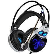 cheap PC & Tablet Accessories-SADES R8 Headband Wired Headphones Dynamic Plastic Gaming Earphone with Microphone Headset