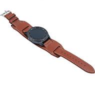 Недорогие Аксессуары для смарт-часов-Ремешок для часов для Gear S3 Classic Samsung Galaxy Классическая застежка Натуральная кожа Повязка на запястье