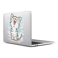 """お買い得  MacBook 用ケース/バッグ/スリーブ-MacBook ケース 猫 / 風景 プラスチック のために 新MacBook Pro 15"""" / 新MacBook Pro 13"""" / MacBook Pro 15インチ"""