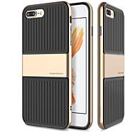 Недорогие Кейсы для iPhone 8-Кейс для Назначение Apple iPhone 8 iPhone 7 Защита от удара Сплошной цвет Мягкий для
