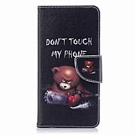 Недорогие Чехлы и кейсы для Galaxy Note 8-Кейс для Назначение Samsung Note 8 Бумажник для карт Кошелек со стендом Флип Магнитный Чехол Животное Твердый Кожа PU для Note 8