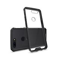 お買い得  携帯電話ケース-ケース 用途 OnePlus OnePlus 5T 5 耐衝撃 クリア バックカバー 純色 鎧 ハード アクリル のために One Plus 5 OnePlus 5T One Plus 3 One Plus 3T