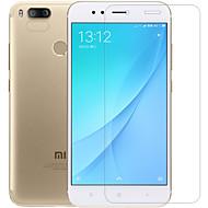 お買い得  -スクリーンプロテクター XIAOMI のために Xiaomi A1 PET 強化ガラス 1枚 フロント&カメラレンズプロテクター アンチグレア 指紋防止 傷防止 超薄型 防爆 硬度9H ハイディフィニション(HD)
