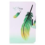 Недорогие Чехлы и кейсы для Galaxy Tab E 9.6-Кейс для Назначение Samsung Tab 4 7.0 Tab Pro 8.4 Tab E 9.6 Tab E 8.0 Tab A 9.7 Бумажник для карт Кошелек со стендом С узором Авто Режим