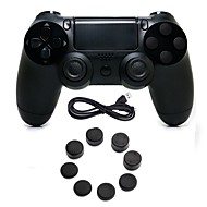 abordables Accesorios para PS4-Control de Videojuego Para PS4 ,  Empuñadura de Juego Control de Videojuego Silicona / ABS 1 pcs unidad