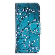 abordables Fundas / carcasas para Huawei Honor-Funda Para Huawei Honor 8 Honor 7X Soporte de Coche Cartera con Soporte Flip Magnética Funda de Cuerpo Entero Flor Dura Cuero de PU para