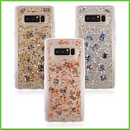 Недорогие Чехлы и кейсы для Galaxy Note-Кейс для Назначение SSamsung Galaxy Note 8 Полупрозрачный Кейс на заднюю панель Сияние и блеск Мягкий ТПУ для Note 8