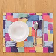 abordables Salvamanteles-Ordinario Material Mixto Cuadrado Juego de Mesa Decoraciones de mesa