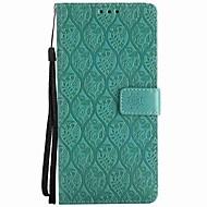 Недорогие Чехлы и кейсы для Galaxy Note 8-Кейс для Назначение Samsung Note 8 Бумажник для карт Кошелек Защита от удара со стендом Флип Чехол Сплошной цвет Твердый Кожа PU для Note