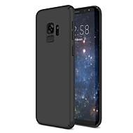 Недорогие Чехлы и кейсы для Galaxy S7 Edge-Кейс для Назначение SSamsung Galaxy S9 S9 Plus Ультратонкий Кейс на заднюю панель Сплошной цвет Твердый пластик для S9 Plus S9 S8 Plus S8