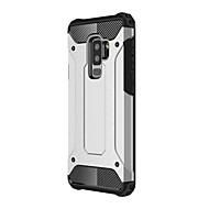 Недорогие Чехлы и кейсы для Galaxy S8-Кейс для Назначение SSamsung Galaxy S9 S9 Plus броня Кейс на заднюю панель броня Твердый Металл для S9 Plus S9 S8 Plus S8 S7 edge S7