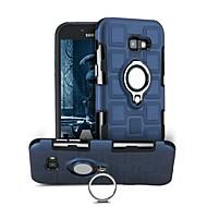 Недорогие Чехлы и кейсы для Galaxy A7(2017)-Кейс для Назначение SSamsung Galaxy A7(2017) Защита от удара Кольца-держатели Поворот на 360° Кейс на заднюю панель Сплошной цвет Твердый