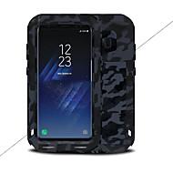 Недорогие Чехлы и кейсы для Galaxy S8-Кейс для Назначение SSamsung Galaxy S8 Plus S8 Вода / Грязь / Надежная защита от повреждений Чехол Сплошной цвет Твердый Металл для S8