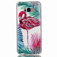 Недорогие Чехлы и кейсы для Galaxy S8 Plus-Кейс для Назначение SSamsung Galaxy S8 Plus S8 С узором Кейс на заднюю панель Фламинго Мягкий ТПУ для S8 Plus S8 S7 edge S7 S6 edge plus