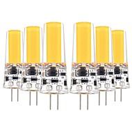 お買い得  -YWXLIGHT® 6本 5W 400-500lm G4 LED2本ピン電球 T 1 LEDビーズ COB 装飾用 温白色 クールホワイト 12V 12-24V