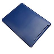 お買い得  MacBook 用ケース/バッグ/スリーブ-スリーブ のために ソリッド 本革 MacBook Air 13インチ