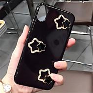 Недорогие Кейсы для iPhone 8-Кейс для Назначение Apple iPhone X iPhone 7 Plus Стразы С узором Кейс на заднюю панель Сплошной цвет Твердый ТПУ для iPhone X iPhone 8