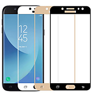 Недорогие Защитные пленки для Samsung-Защитная плёнка для экрана Samsung Galaxy для J5 (2017) Закаленное стекло 1 ед. Защитная пленка для экрана 3D закругленные углы 2.5D