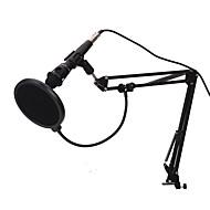preiswerte Mikrofone-KEBTYVOR E-300 Mit Kabel / 3.5mm Mikrofon Mikrofon Kondensatormikrofon Handmikrofon Für Computer Mikrofon