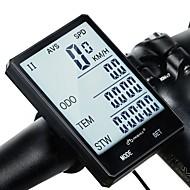 abordables Accesorios para Ciclismo y Bicicleta-inbike CX-9 2.8'' Large Screen Ordenador de Bicicleta Ciclismo Reloj Cronómetro Impermeable Inalámbrica Resistente a la lluvia