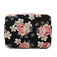 "cheap PC & Tablet Accessories-Canvas Floral Print Sleeves 15"" Laptop 14"" Laptop 13"" Laptop 11"" Laptop"