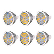 お買い得  LED スポットライト-YWXLIGHT® 6本 7W 600-700lm MR16 GU5.3 LEDスポットライト 48 LEDビーズ SMD 2835 温白色 クールホワイト ナチュラルホワイト 12V