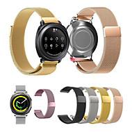 Недорогие Аксессуары для смарт-часов-Ремешок для часов для Gear Sport / Gear S2 Classic / Huawei Watch 2 Samsung Galaxy Миланский ремешок Нержавеющая сталь Повязка на запястье