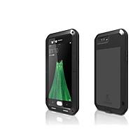 お買い得  携帯電話ケース-ケース 用途 OPPO R11 水/汚れ/ショックプルーフ フルボディーケース 純色 ハード メタル のために Oppo R11