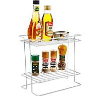 お買い得  収納&整理-1個 シェーカー&ミル ラック&ホルダー 瓶類 プラスチック クリエイティブキッチンガジェット 保存容器 キッチン組織
