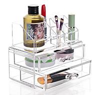 お買い得  浴室用小物-化粧品収納 多機能 使いやすい 高品質 保存容器 ファッション プラスチック 1個 - 家庭向け 日常使用 浴室 多機能 バス組織