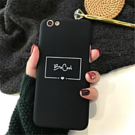 abordables Fundas para iPhone 8-Funda Para Apple iPhone X / iPhone 7 Plus Diseños Funda Trasera Palabra / Frase Dura Acrílico para iPhone X / iPhone 8 Plus / iPhone 8