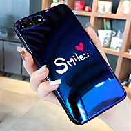 Case สำหรับ Apple iPhone X / iPhone 7 Plus Pattern ปกหลัง Word / Phrase Soft ซิลิโคน สำหรับ iPhone X / iPhone 8 Plus / iPhone 8