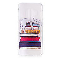 Недорогие Чехлы и кейсы для Galaxy S8-Кейс для Назначение SSamsung Galaxy S9 S9 Plus С узором Кейс на заднюю панель Кот Мягкий ТПУ для S9 Plus S9 S8 Plus S8 S7 edge S7 S6 edge