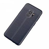 ケース 用途 Samsung Galaxy S9 S9 Plus 超薄型 バックカバー 純色 ソフト TPU のために S9 Plus S9 S8 Plus S8 S7 edge S7