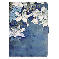 Case For Apple iPad mini 4 / iPad Mini 3/2/1 Card Holder / Shockproof / with Stand Full Body Cases Flower Hard PU Leather for iPad Mini 3/2/1 / iPad Mini 4