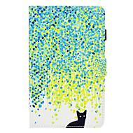 preiswerte Tablet Zubehör-Hülle Für Amazon Kindle Fire hd 7.0 Kreditkartenfächer Stoßresistent mit Halterung Flipbare Hülle Ganzkörper-Gehäuse Katze Hart PU-Leder