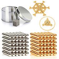 preiswerte Spielzeuge & Spiele-216 pcs 3mm Magnetspielsachen Magnetische Bälle / Bausteine / Puzzle Würfel Metalic / Magnet Magnetisch Unisex Erwachsene Geschenk