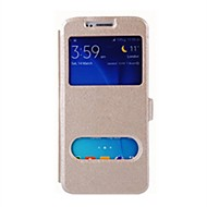 Недорогие Чехлы и кейсы для Galaxy S8-Кейс для Назначение SSamsung Galaxy S9 Plus / S9 со стендом / Флип Чехол Однотонный Твердый Кожа PU для S9 / S9 Plus / S8 Plus