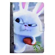 Недорогие Чехлы и кейсы для Samsung Tab-Кейс для Назначение SSamsung Galaxy Tab E 9.6 Tab A 10.1 (2016) Бумажник для карт со стендом Флип С узором Чехол Животное Твердый Кожа PU
