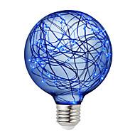お買い得  -BRELONG® 1個 3W 300lm E26 / E27 LEDボール型電球 95 LEDビーズ SMD 装飾用 グリーン ブルー レッド 220-240V