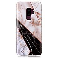 Недорогие Чехлы и кейсы для Galaxy S9 Plus-Кейс для Назначение SSamsung Galaxy S9 Plus / S9 IMD / С узором Кейс на заднюю панель Сияние и блеск / Мрамор Мягкий ТПУ для S9 / S9 Plus / S8 Plus