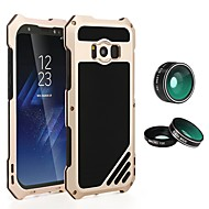 abordables Galaxy S7 Edge Carcasas / Fundas-Funda Para Samsung Galaxy S8 Plus S7 edge Antigolpes Armadura Funda de Cuerpo Entero Color sólido Dura Metal para S8 Plus S8 S7 edge S7