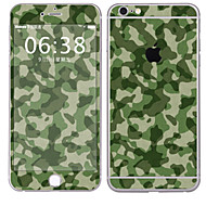 Недорогие Защитные плёнки для экрана iPhone-1 ед. Наклейки для Защита от царапин Камуфляж Узор PVC iPhone 6s Plus/6 Plus