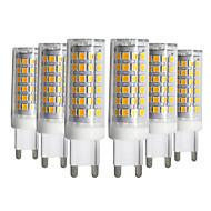 お買い得  -YWXLIGHT® 6本 9W 750-850 lm G9 LED2本ピン電球 T 76 LEDの SMD 2835 調光可能 温白色 クールホワイト ナチュラルホワイト AC 220-240V