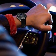 Недорогие Аксессуары для смарт-часов-Ремешок для часов для Gear S3 Frontier / Gear S3 Classic Samsung Galaxy Классическая застежка Кожа / Нейлон Повязка на запястье