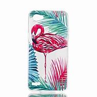 お買い得  携帯電話ケース-ケース 用途 LG V30 Q6 パターン バックカバー フラミンゴ ソフト TPU のために LG X Style LG X Power LG V30 LG Q6 LG K10 LG K8